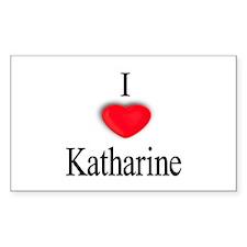 Katharine Rectangle Decal