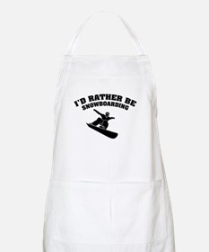 I'd rather be snowboarding Apron