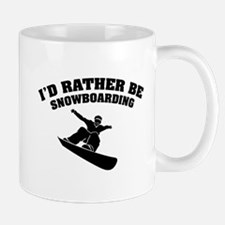 I'd rather be snowboarding Mug
