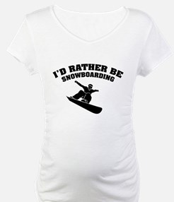 I'd rather be snowboarding Shirt