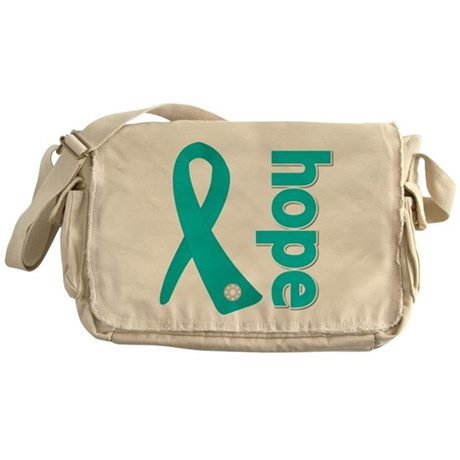 Hope Ovarian Cancer Messenger Bag