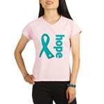 Hope Ovarian Cancer Performance Dry T-Shirt