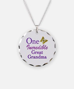 One Incredible Great Grandma Necklace