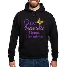One Incredible Great Grandma Hoodie