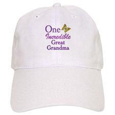 One Incredible Great Grandma Baseball Cap