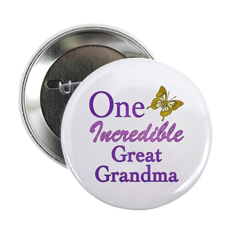 "One Incredible Great Grandma 2.25"" Button (10 pack"