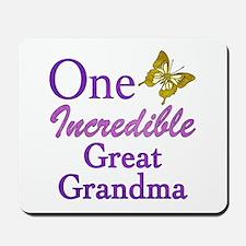 One Incredible Great Grandma Mousepad