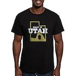 Made In Utah Men's Fitted T-Shirt (dark)