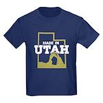 Made In Utah Kids Dark T-Shirt