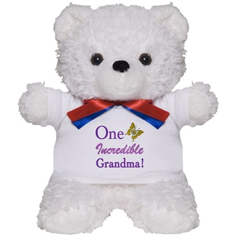One Incredible Grandma Teddy Bear