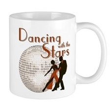 Retro Dancing with the Stars Small Mug