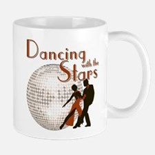 Retro Dancing with the Stars Small Mugs
