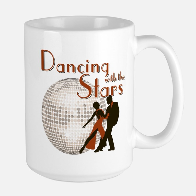 Retro Dancing with the Stars Ceramic Mugs