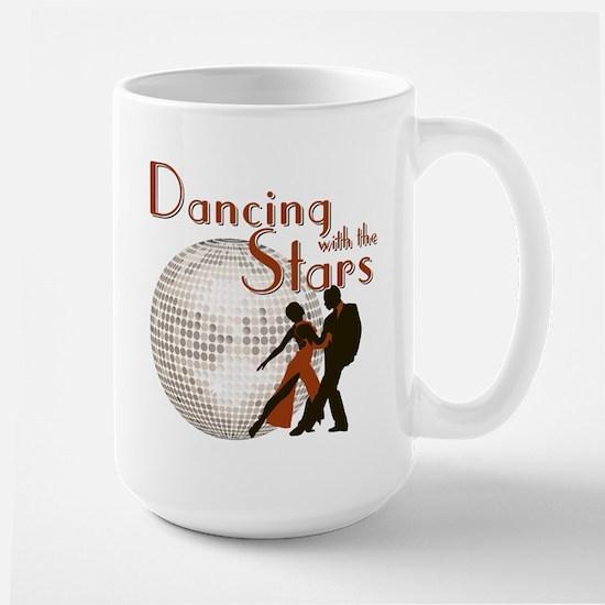 Retro Dancing with the Stars Large Mug