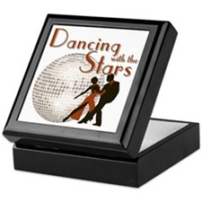 Retro Dancing with the Stars Keepsake Box