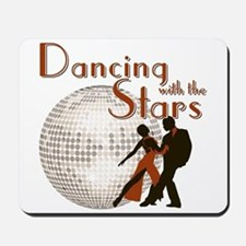 Retro Dancing with the Stars Mousepad