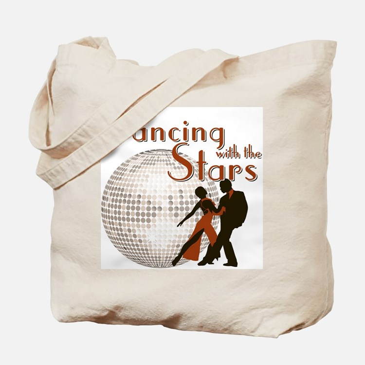Retro Dancing with the Stars Tote Bag