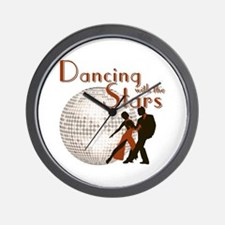 Retro Dancing with the Stars Wall Clock