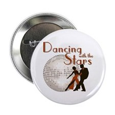 "Retro Dancing with the Stars 2.25"" Button"