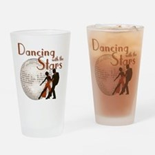 Retro Dancing with the Stars Drinking Glass