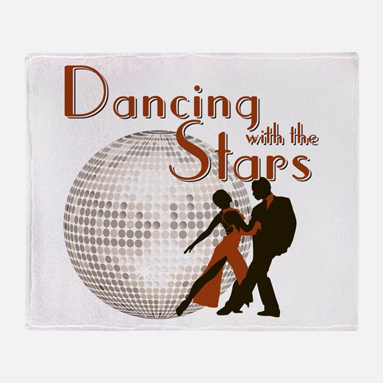 Retro Dancing with the Stars Throw Blanket