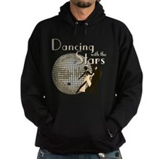 Retro Dancing with the Stars Dark Hoodie