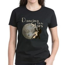 Retro Dancing with the Stars Women's Dark T-Shirt