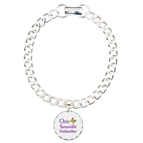 One Incredible Godmother Charm Bracelet, One Charm