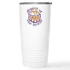 DRUMS ON FIRET Travel Coffee Mug