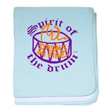 DRUMS ON FIRE™ baby blanket