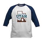 Utah Boy Kids Baseball Jersey
