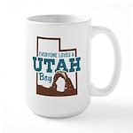 Utah Boy Large Mug