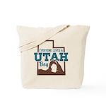 Utah Boy Tote Bag