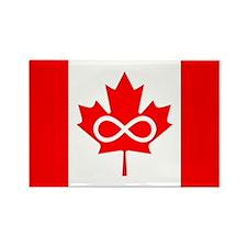 Canadian Metis Flag Rectangle Magnet (10 pack)