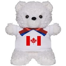 Canadian Metis Flag Teddy Bear