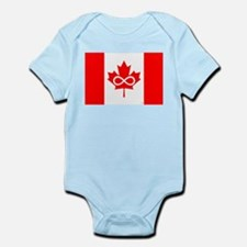 Canadian Metis Flag Infant Bodysuit