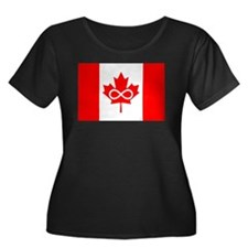 Canadian Metis Flag T