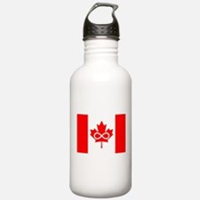 Canadian Metis Flag Water Bottle