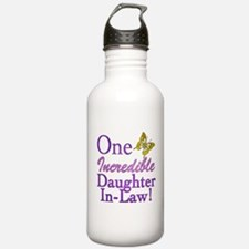 One Incredible Daughter-In-Law Water Bottle