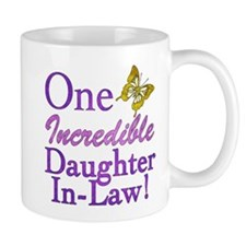 One Incredible Daughter-In-Law Small Mug