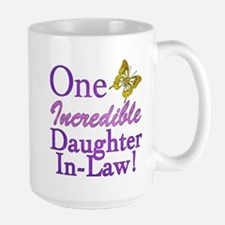 One Incredible Daughter-In-Law Large Mug