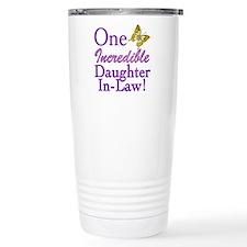 One Incredible Daughter-In-Law Travel Mug
