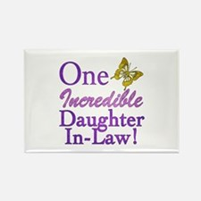 One Incredible Daughter-In-Law Rectangle Magnet