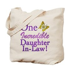 One Incredible Daughter-In-Law Tote Bag