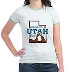 Utah Girl Jr. Ringer T-Shirt