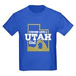 Utah Girl Kids Dark T-Shirt