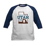 Utah Girl Kids Baseball Jersey