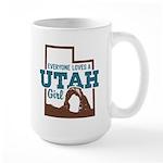 Utah Girl Large Mug