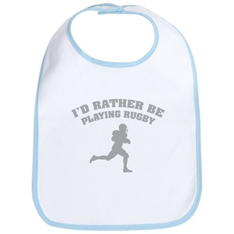 I'd rather be playing rugby Bib