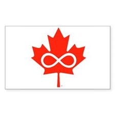 Canadian Metis Flag Decal